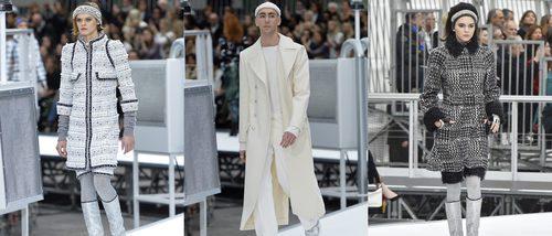 El espacio exterior baja a la Paris Fashion Week con Chanel y su espectacular desfile futurista