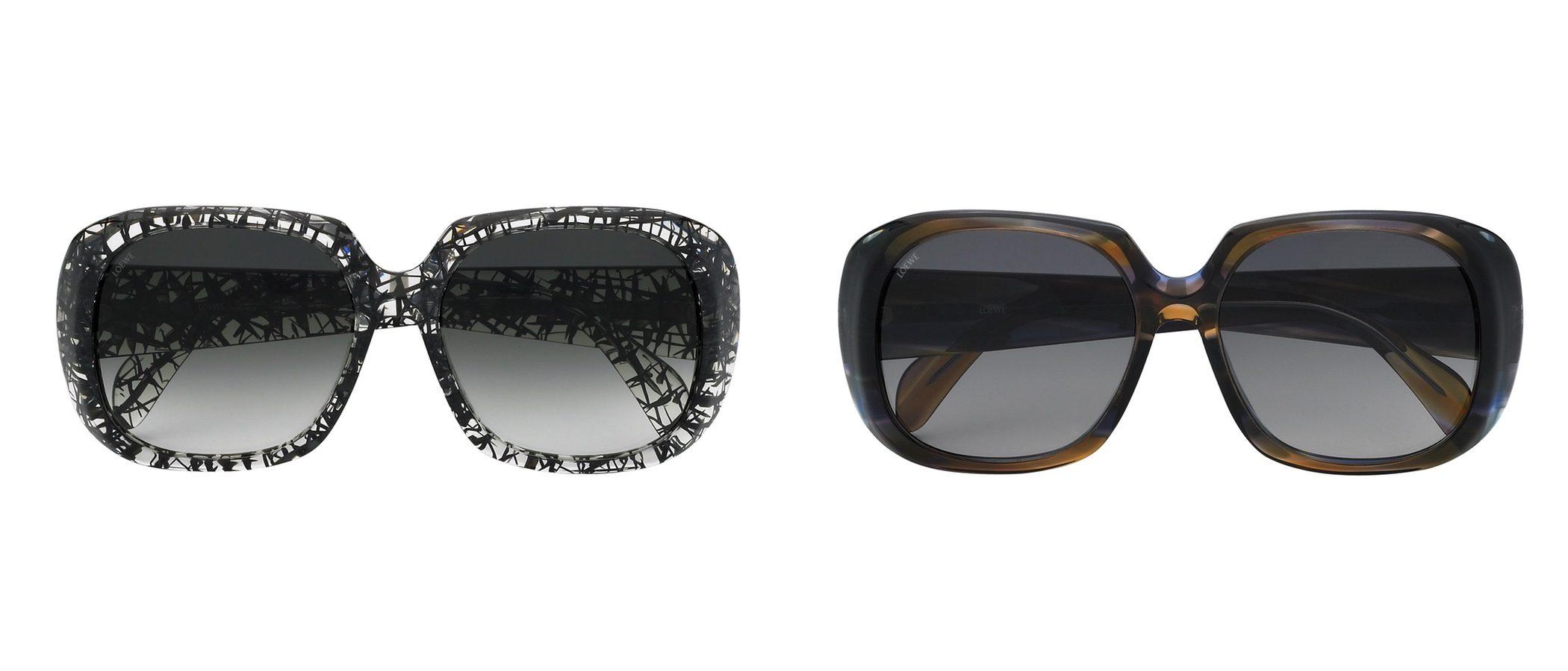 Loewe presenta su nueva colección de gafas sofisticadas 'Aiguablava' para 2017