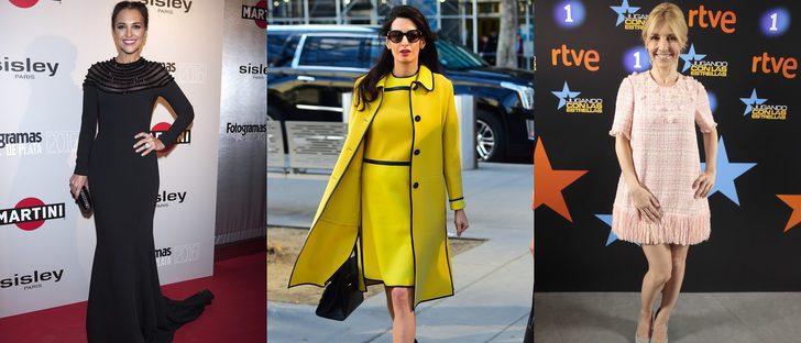 Amal Clooney, Paula Echevarría y Cayetana Guillén Cuervo, entre las mejor vestidas de la semana