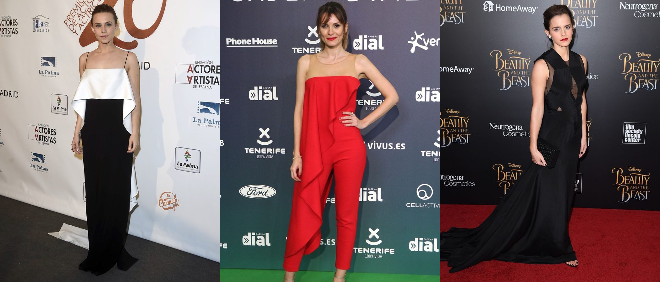 Elena Ballesteros, Emma Watson y Aura Garrido, entre las mejor vestidas de la semana