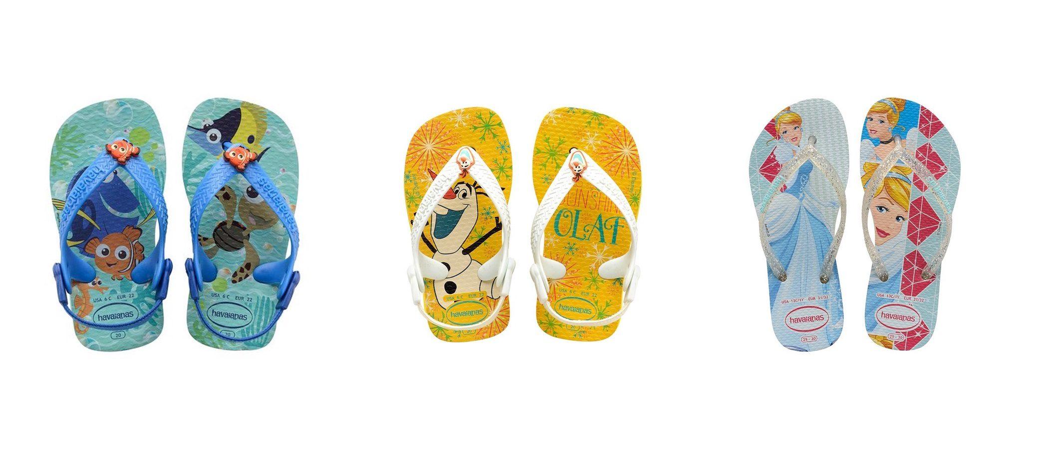 Havaianas anima la primavera/verano 2017 con su nuevo calzado para niños