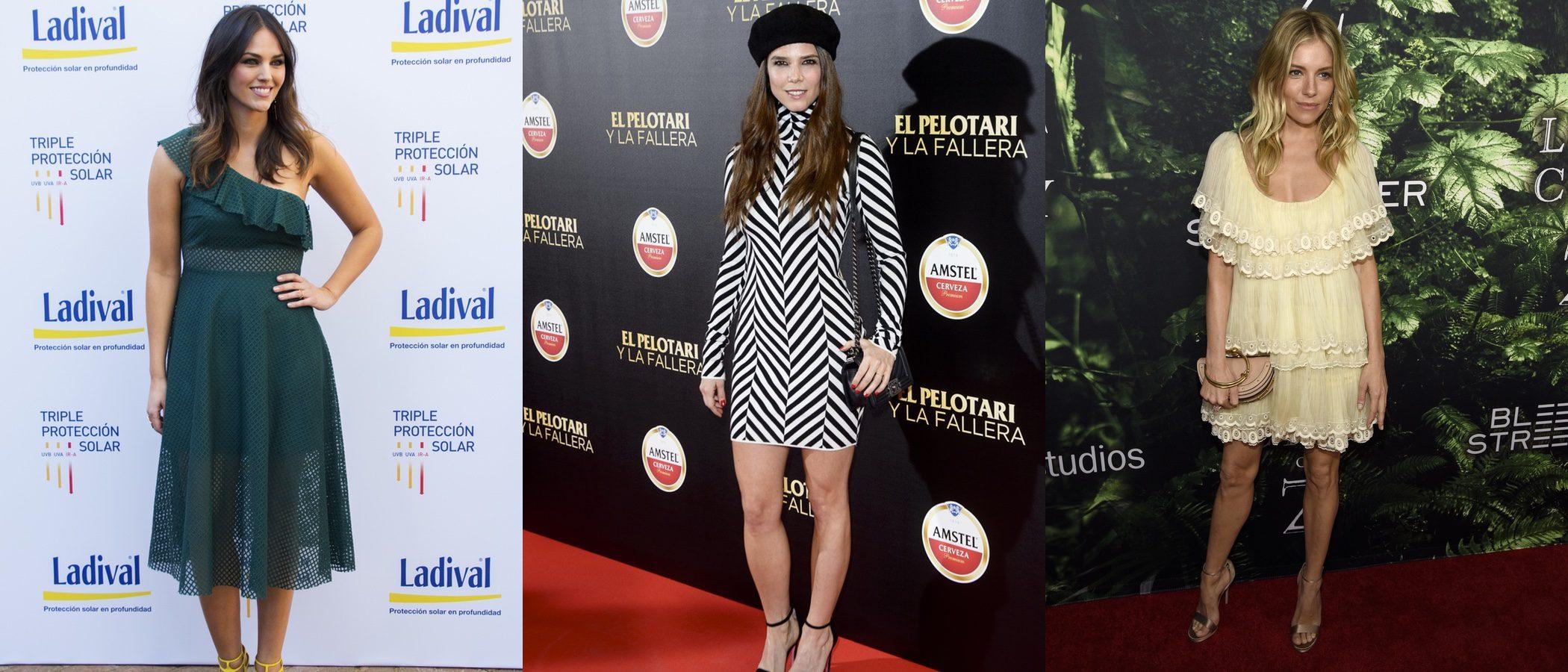 Sienna Miller, Juana Acosta y Helen Lindes, entre las mejor vestidas de la semana