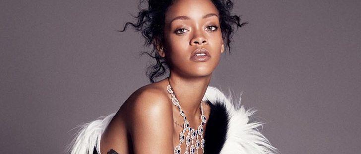 Rihanna se inicia como diseñadora de joyas con la firma Chopard