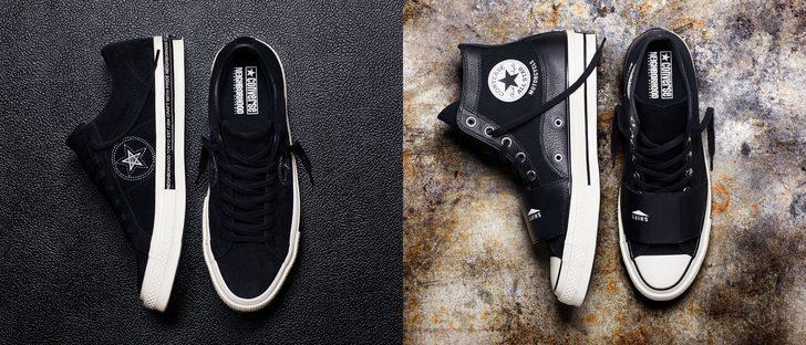 Converse y Neighborhood rediseñan dos icónicas zapatillas con referencias al mundo del motor