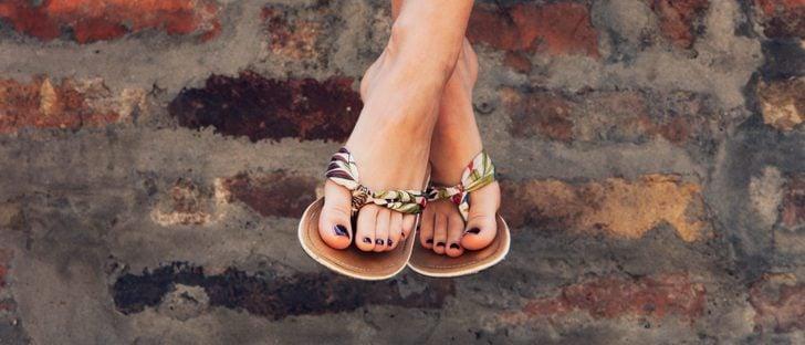 Tipos de sandalias