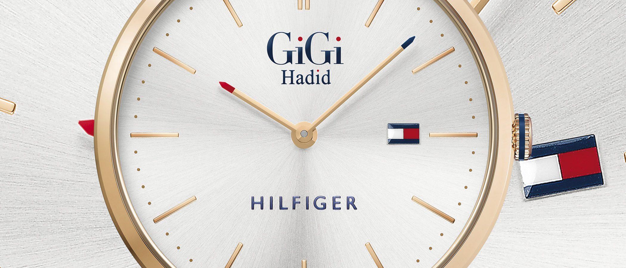 Gigi Hadid lanza una colección de relojes de edición limitada para Tommy Hilfiger