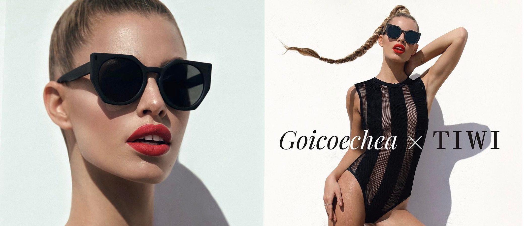 Jessica Goicoechea lanza su primera línea de gafas de sol con la marca Tiwi
