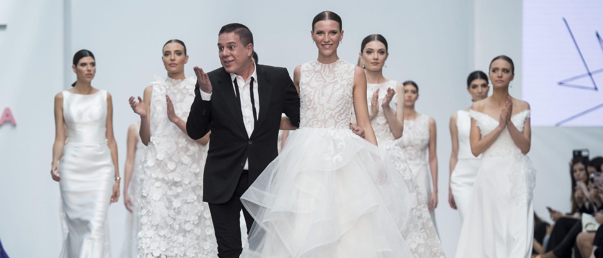 El romanticismo se sube a la Madrid Bridal Week con el desfile de Hannibal Laguna