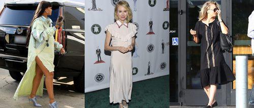 Rihanna, Naomi Watts y Kaley Cuoco, entre las peor vestidas de la semana