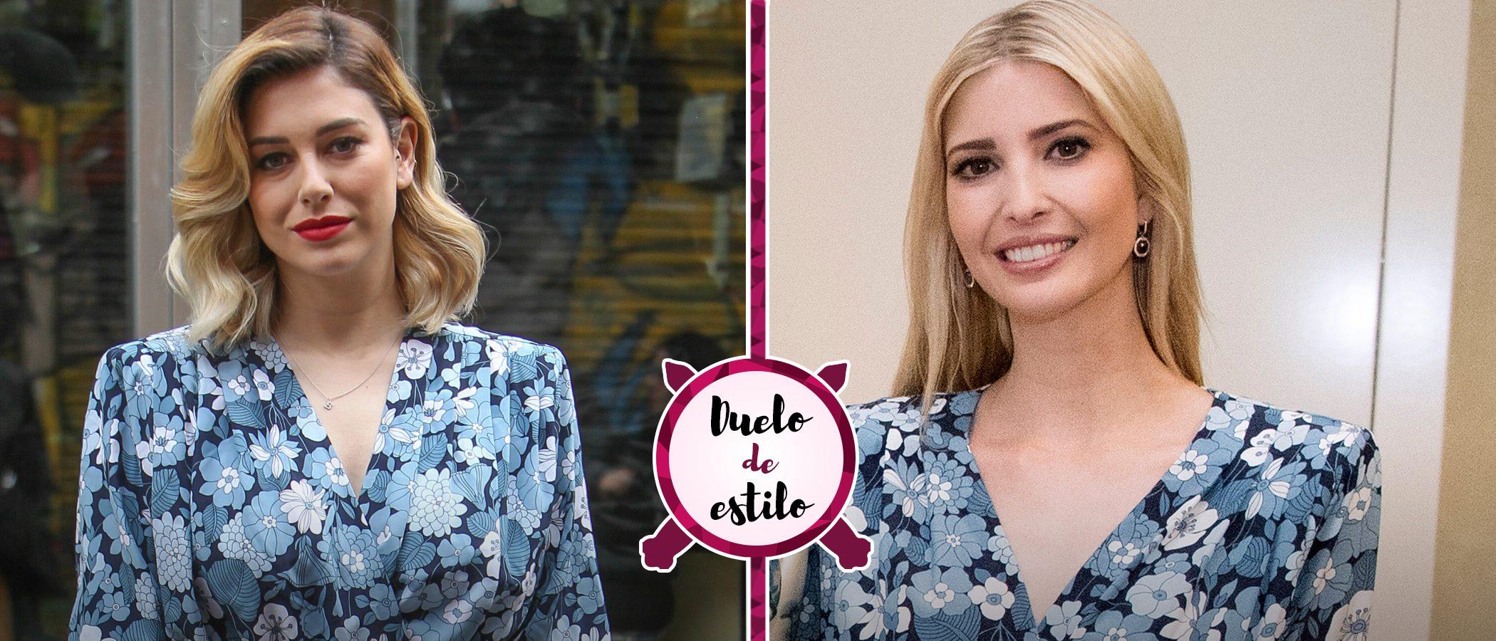 Ivanka Trump y Blanca Suárez: dos looks diferentes con un mismo vestido de Michael Kors