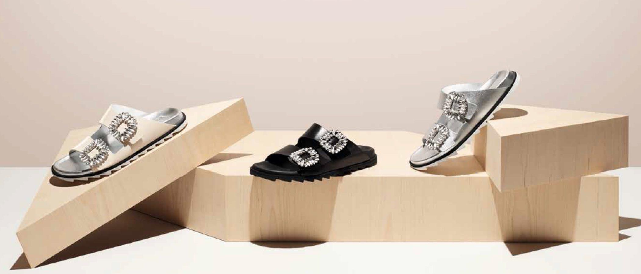 Roger Vivier presenta dos innovadores modelos de calzado para primavera/verano 2017