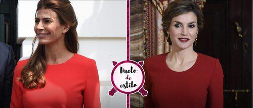 Juliana Awada y la Reina Letizia coinciden con un look muy similar. ¿Quién se lució mejor?