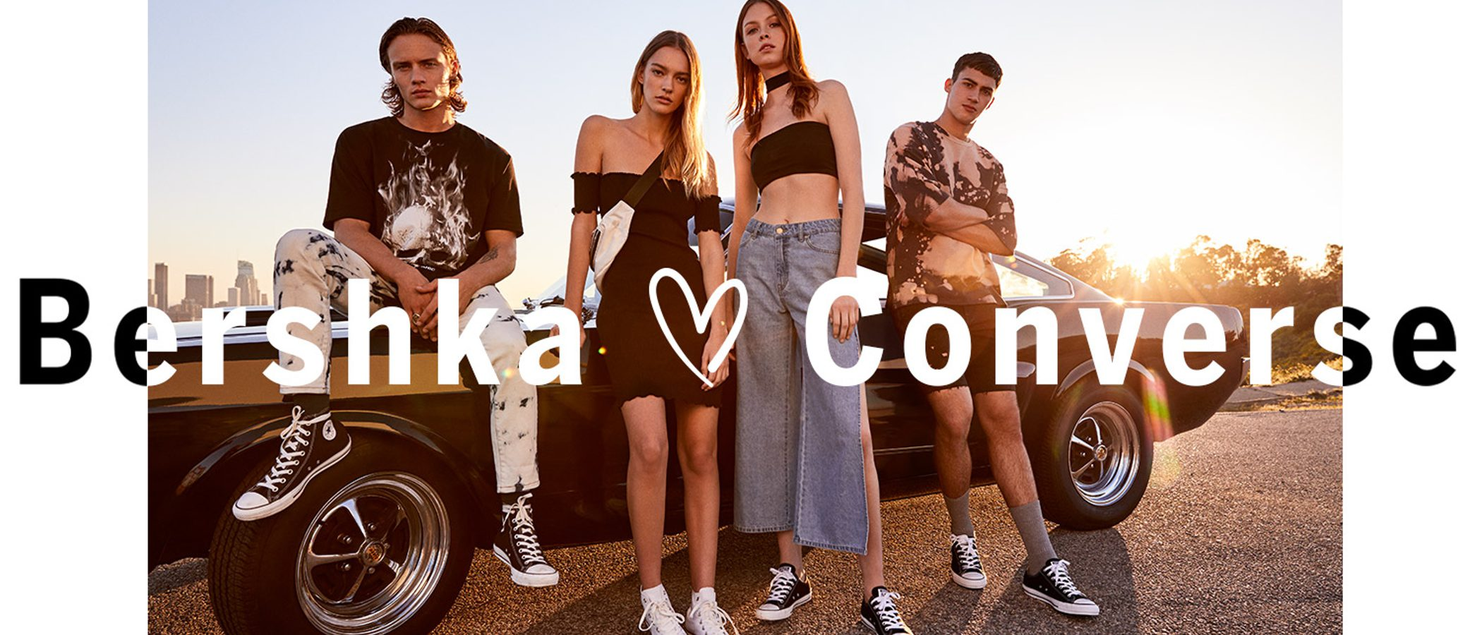 Bershka arrasa con Converse y su nueva colaboración para primavera/verano 2017
