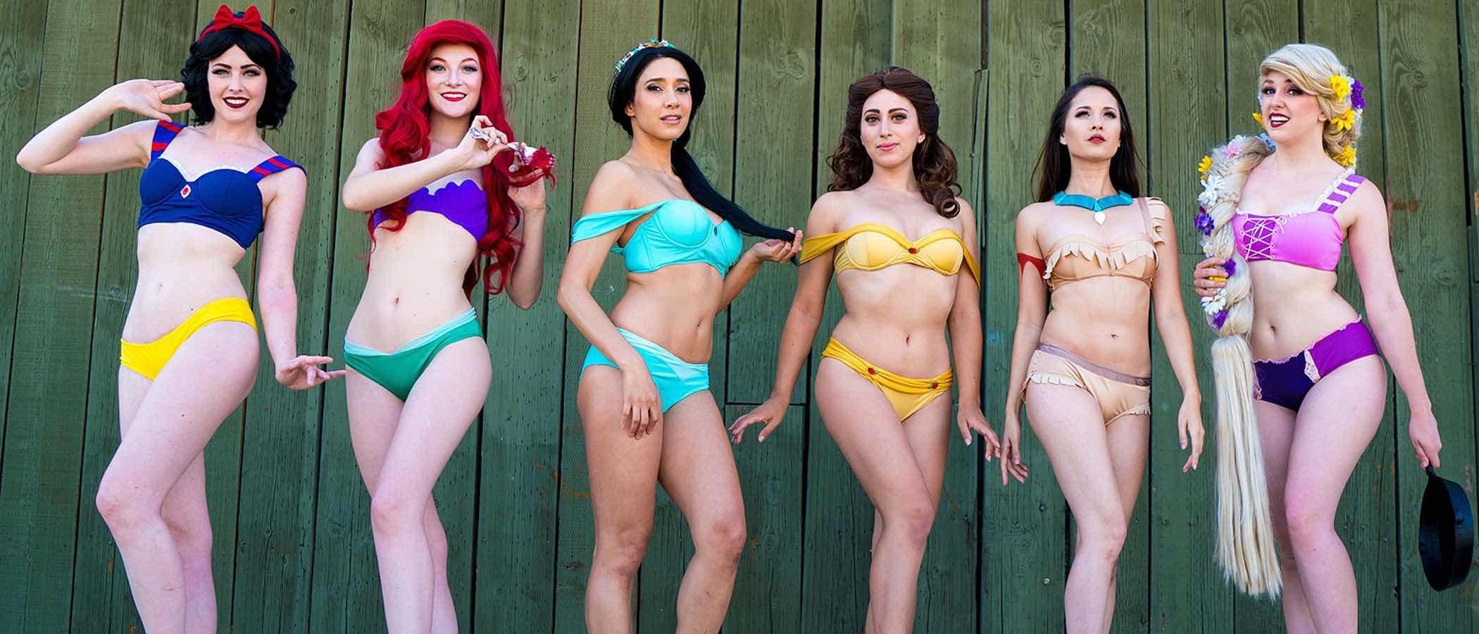 Este verano 2017 serás la Princesa de la playa con los bikinis de Princesas Disney