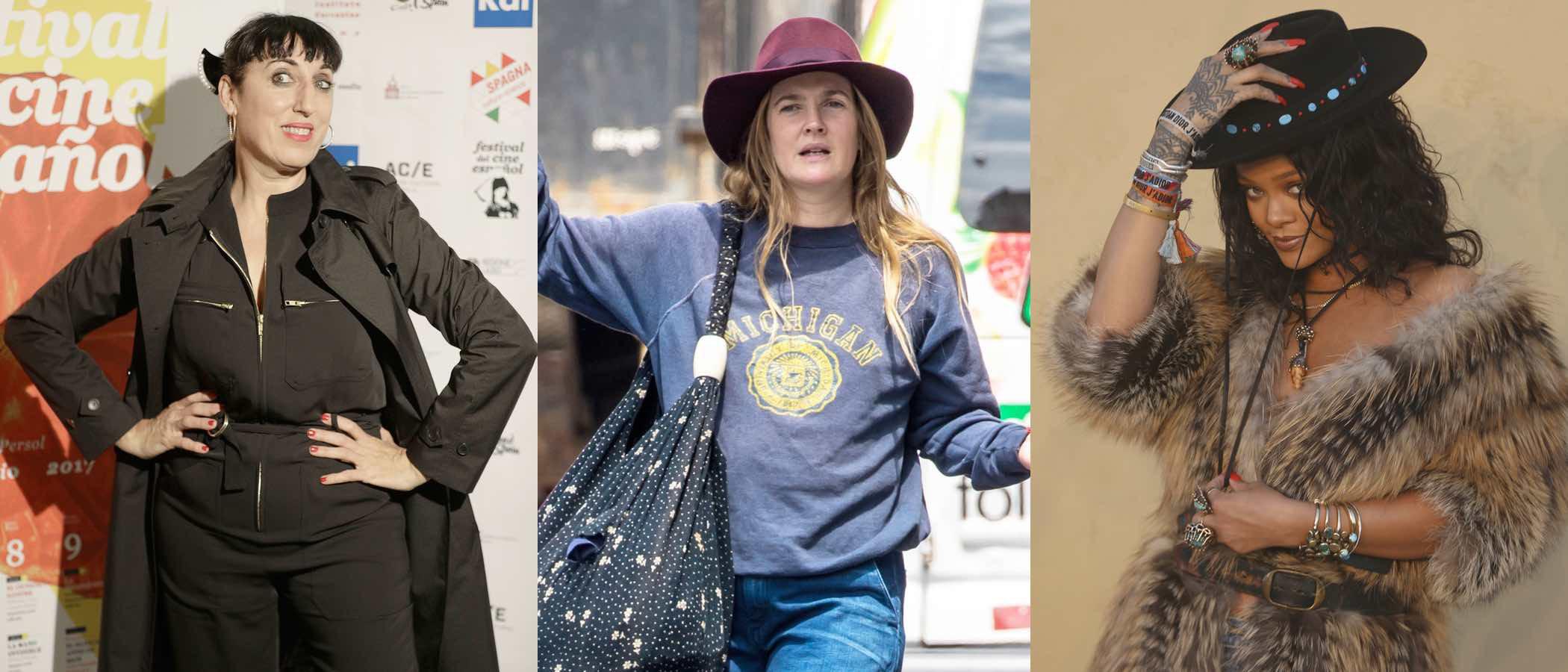 Rossy de Palma, Drew Barrymore y Rihanna, entre las peor vestidas de la semana