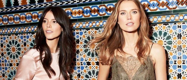Seda y encaje en todas sus versiones, así es la nueva colección de H&M fiesta