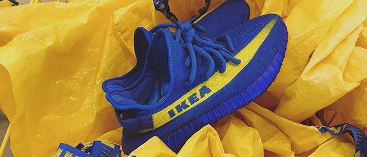 Las nuevas zapatillas Yezzys se inspiran en Ikea