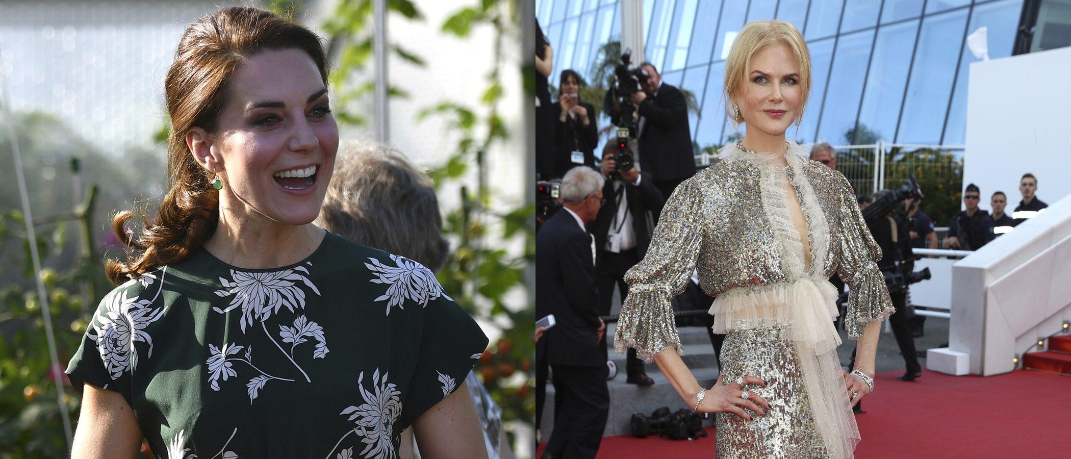 Nicole Kidman y Kate Middleton, entre las mejor vestidas de la semana