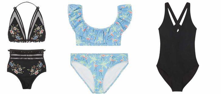El crochet y las aperturas protagonizan la colección swimwear 2017 de ASOS