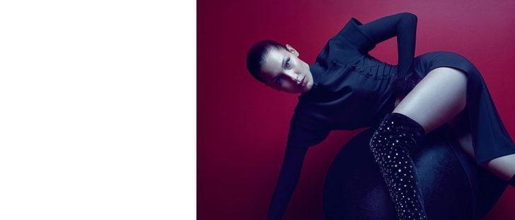 Bella Hadid protagoniza la nueva campaña de Giuseppe Zanotti