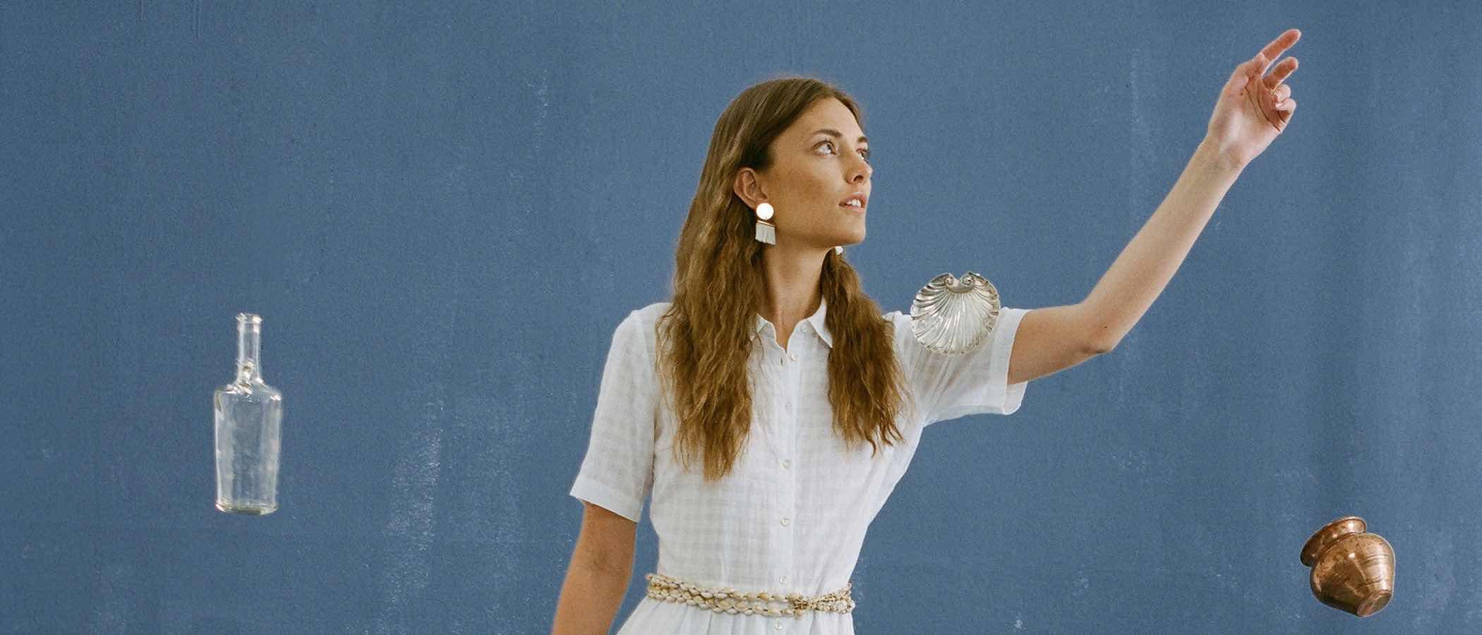 El fondo marino, la inspiración de Nice things para su colección limitada de verano 2017