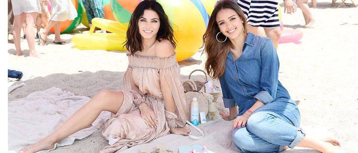 Jessica Alba y Jenna Dewan se unen con Havaianas por una buena causa