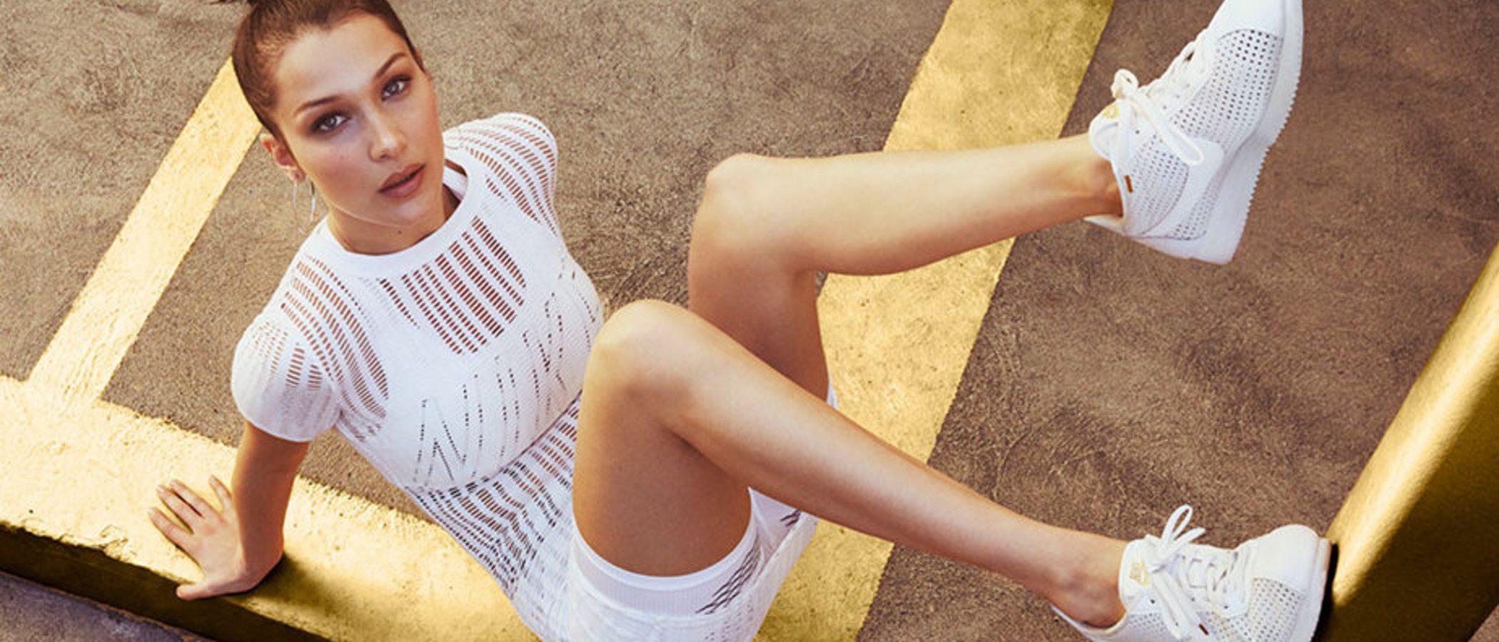 Bella Hadid se convierte en la nueva embajadora de Nike Cortez