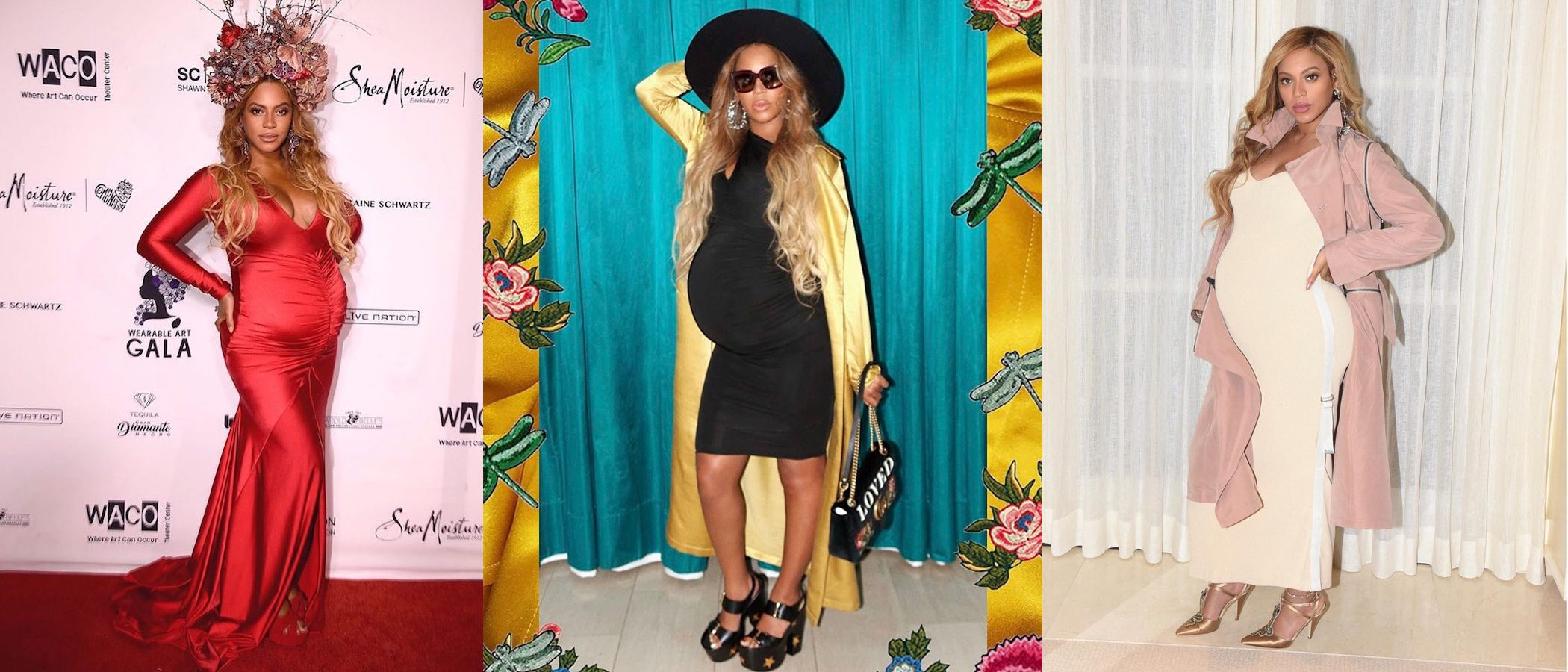 Looks premamá de Beyoncé: desde lo más casual hasta la alfombra roja