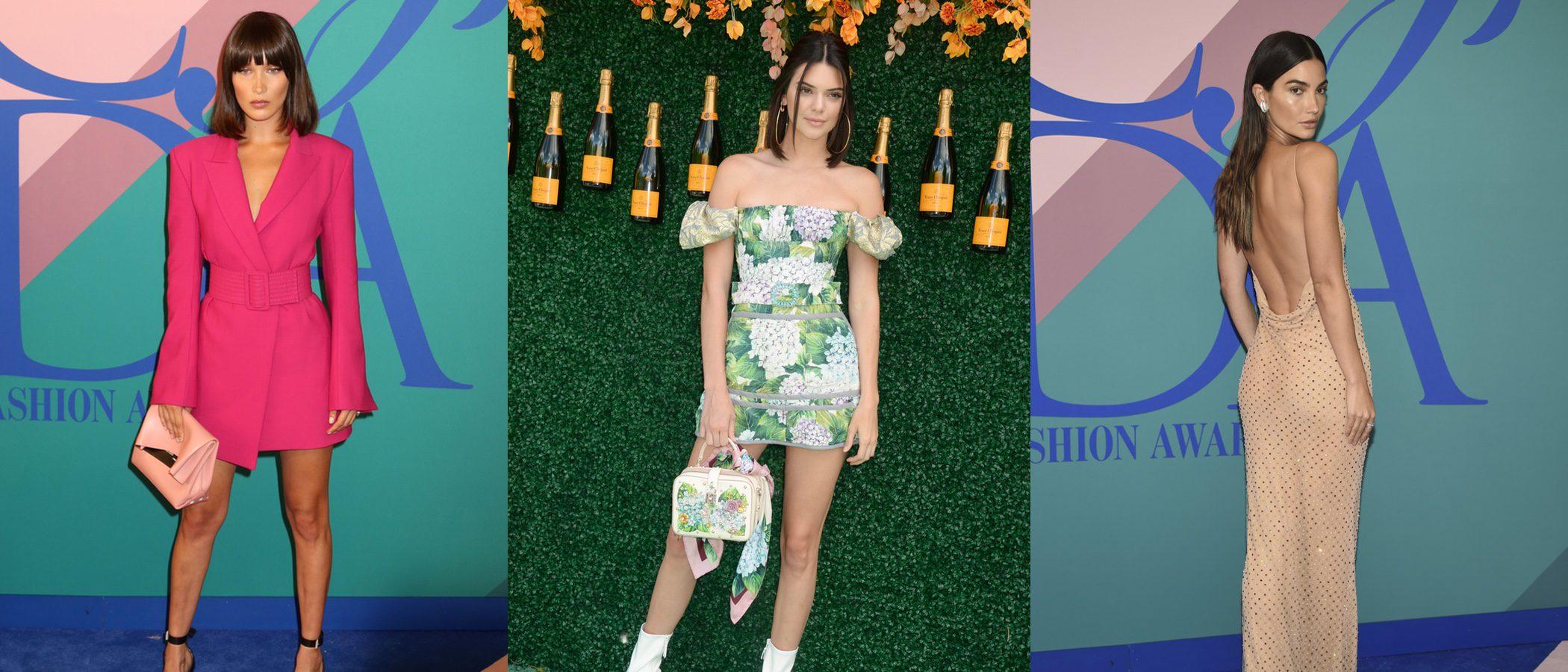 Kendall Jenner y Lily Aldridge, entre las mejor vestidas de la semana