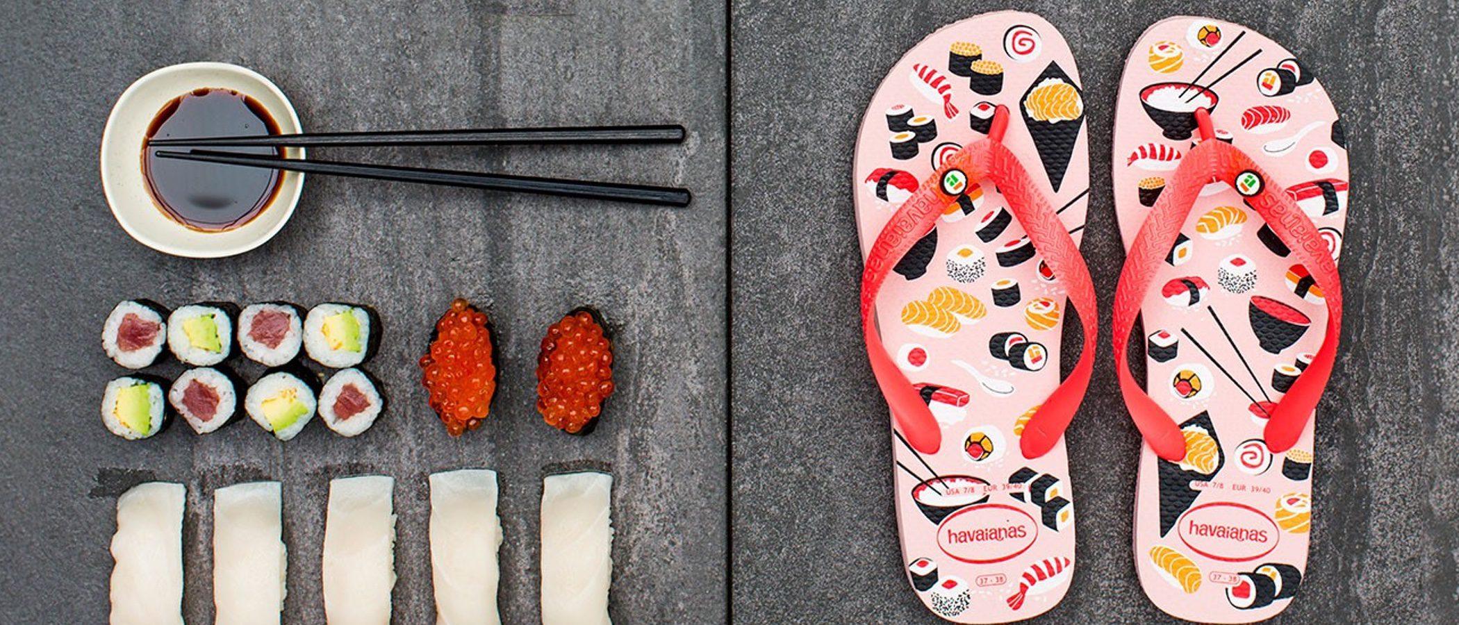 Si eres amante del sushi, las nuevas Havaianas 'Top Honey' te van a encantar