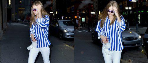 El look de Gigi Hadid convertido en low cost: sencillez veraniega al alcance de todos