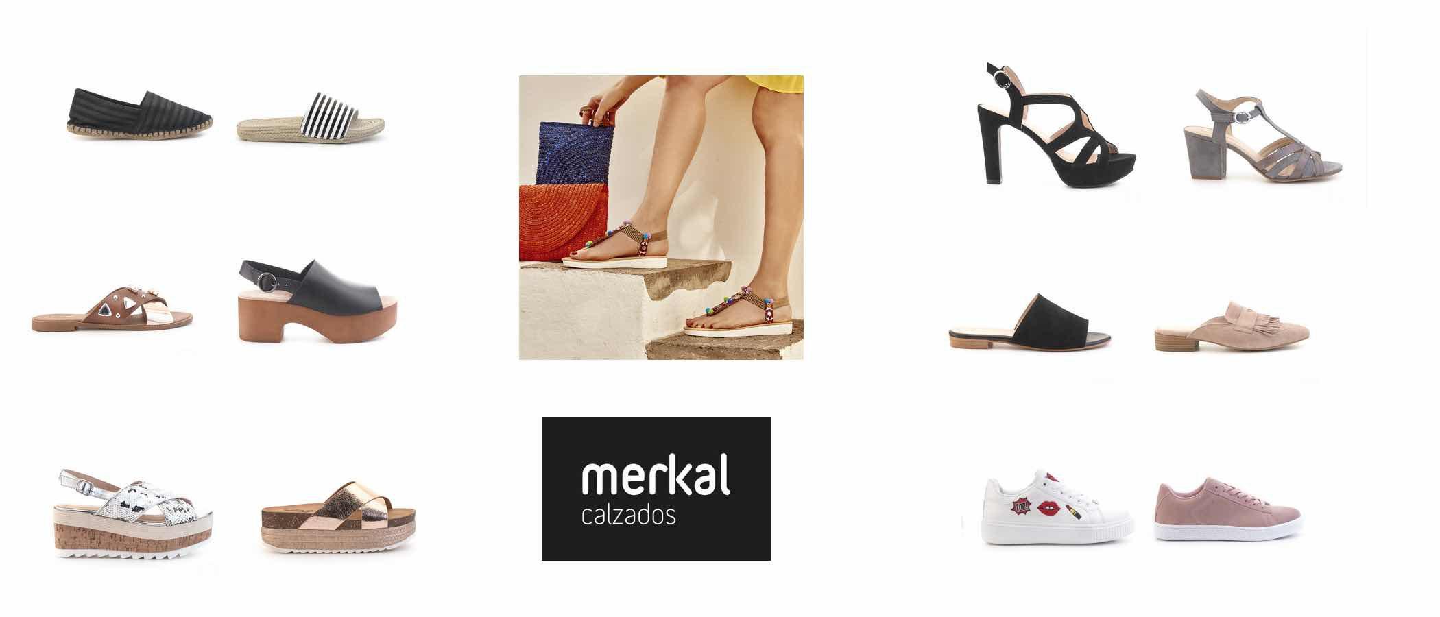 Sandalias con glitter y destalonadas, así es la colección de Merkal para el verano 2017