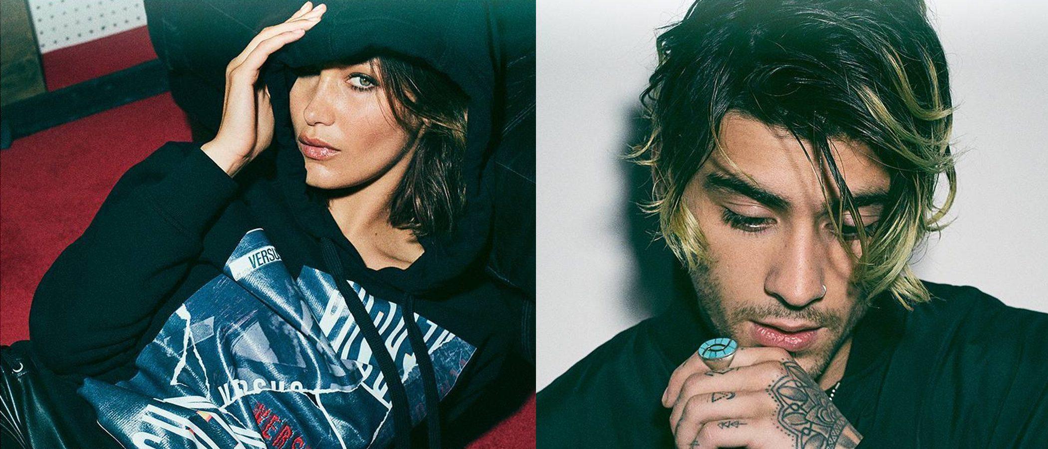 Zayn Malik y Bella Hadid son imagen de la colección 'Zayn x Versus' de Versace