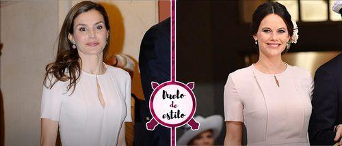 La Reina Letizia y Sofia de Suecia se decantan por el mismo look. ¿Con qué outfit te quedas?