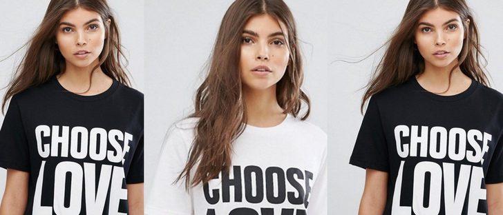 Asos lanza una camiseta solidaria para ayudar a los refugiados