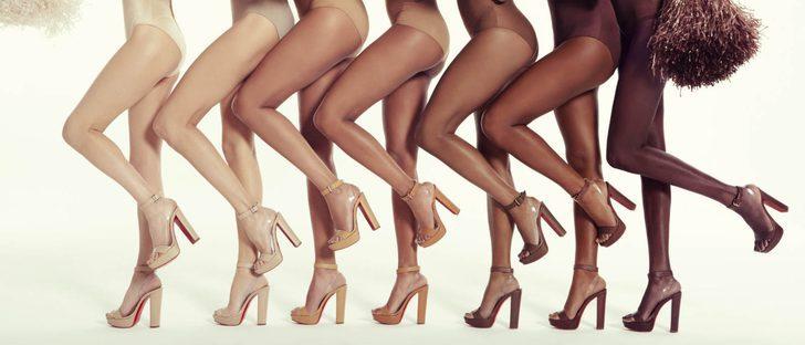 Christian Louboutin lanza una colección con distintos tipos de nude para apostar por la diversidad