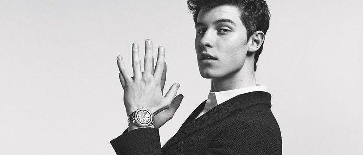 Shawn Mendes se convierte en la nueva imagen de los relojes 'Emporio Armani Connected'