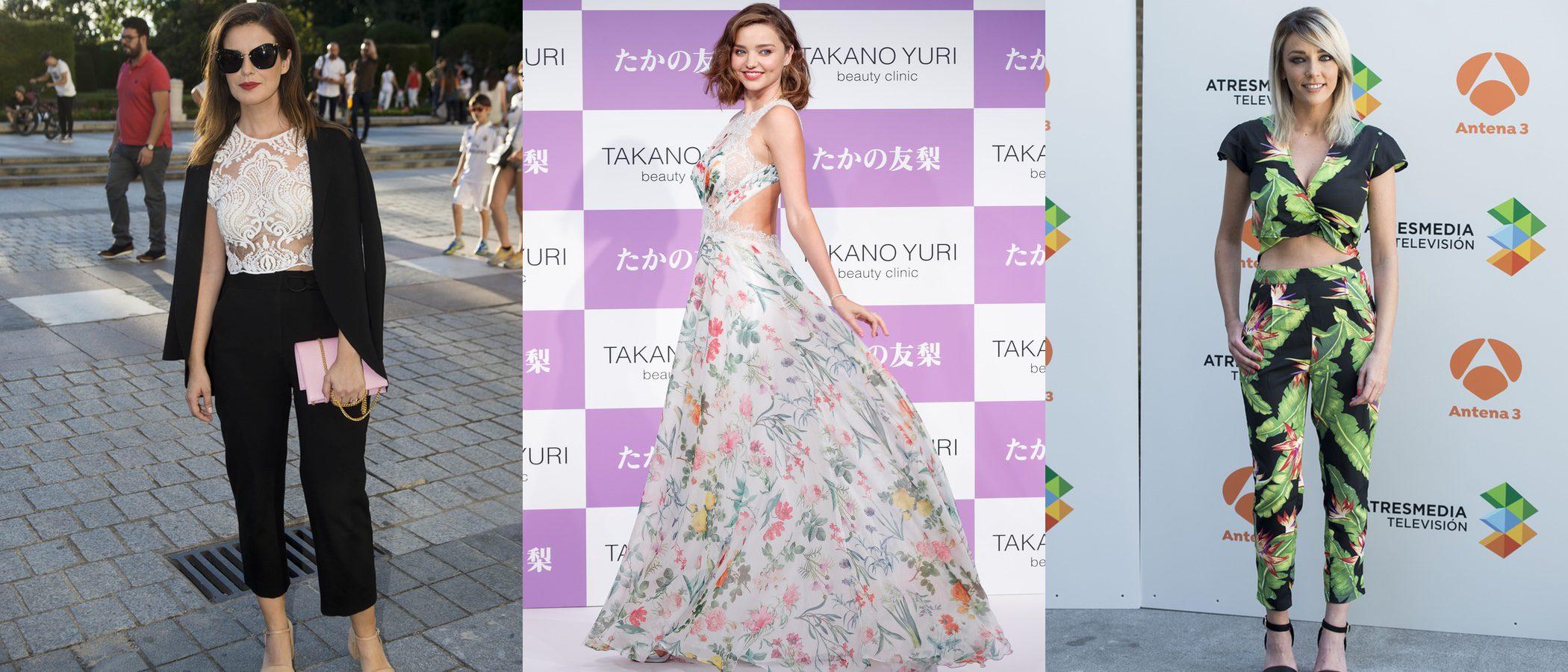 Anna Simón y Miranda Kerr, entre las mejor vestidas de la semana