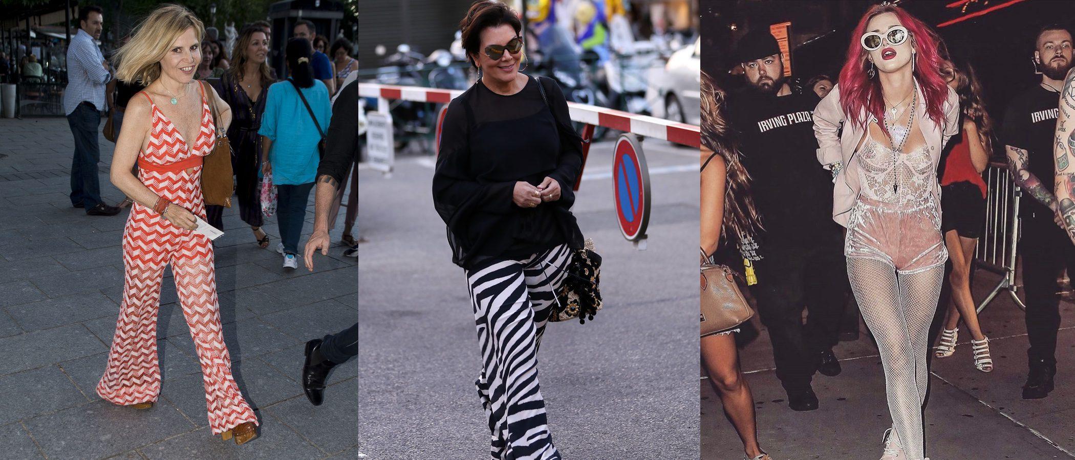 Kris Jenner y Bella Thorne, entre las peor vestidas de la semana