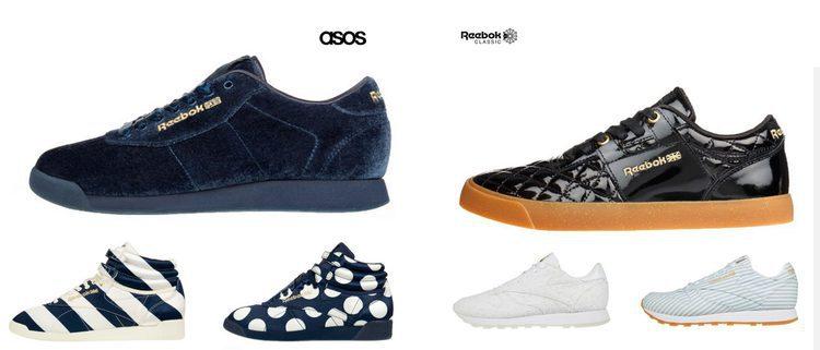 ASOS lanza una colección limitada de zapatillas en colaboración con Rebook para el próximo otoño 2017