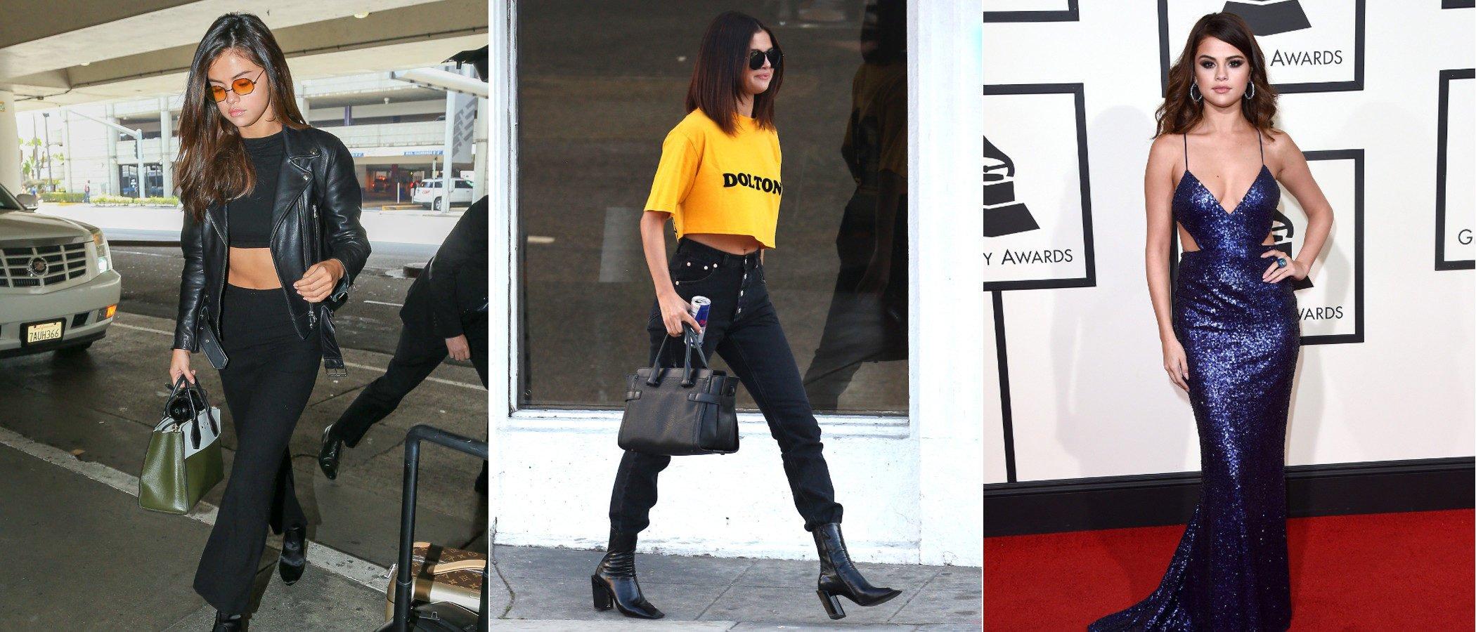 Vístete como Selena Gomez