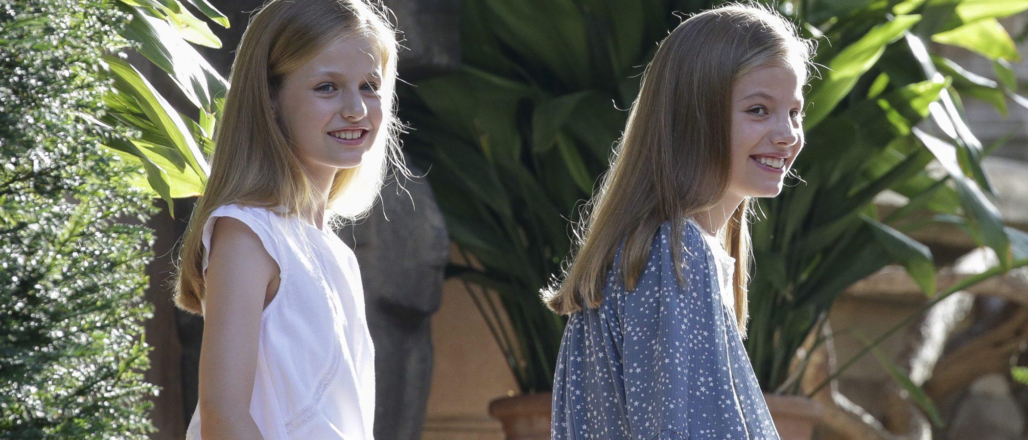 El vestido de Nanos del posado veraniego de la Infanta Sofía se agota en cuestión de horas