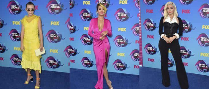 Rita Ora y Bebe Rexha, entre las peor vestidas de los Teen Choice Awards 2017