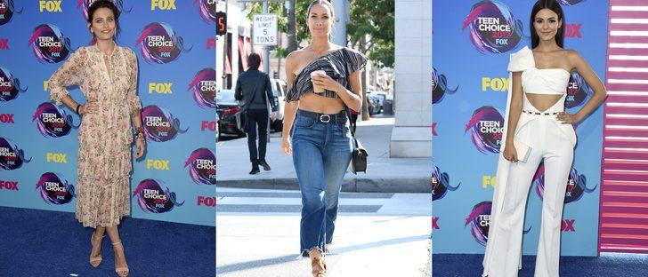 Leona Lewis y Victoria Justice, entre las mejor vestidas de la semana