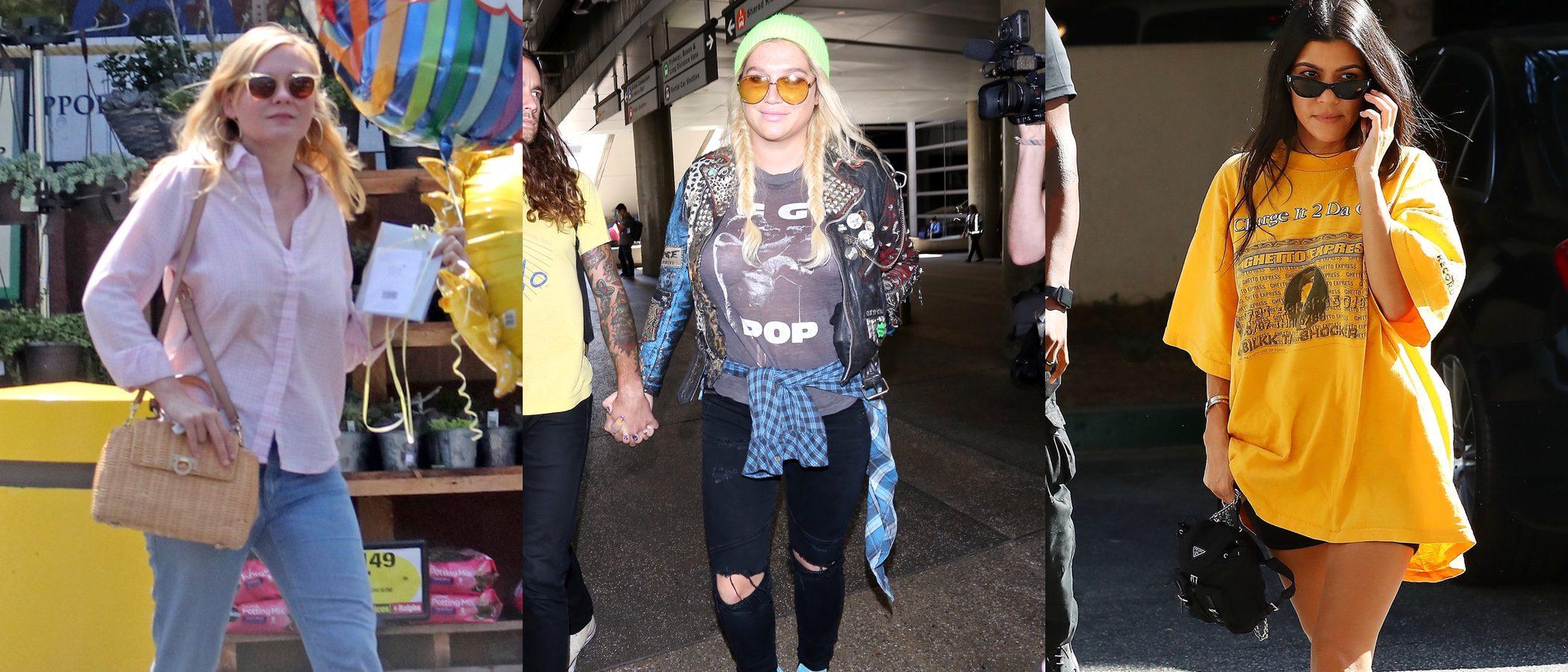 Kourtney Kardashian y Kesha, entre las peor vestidas de la semana
