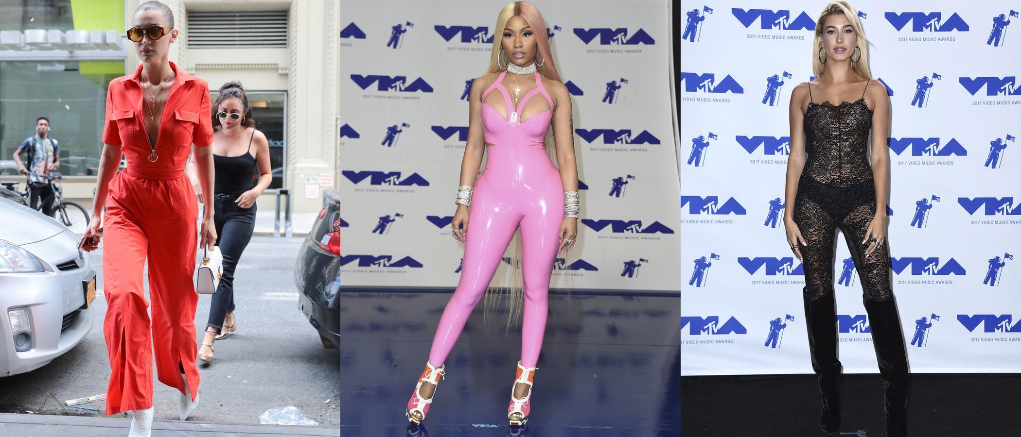 Nicki Minaj y Hailey Baldwin, entre las peor vestidas de la semana
