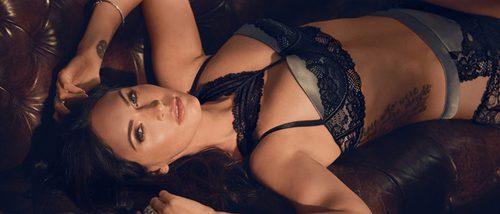 Megan Fox, pura sensualidad en lencería como imagen de la campaña de otoño 2017 de Frederick's of Hollywood