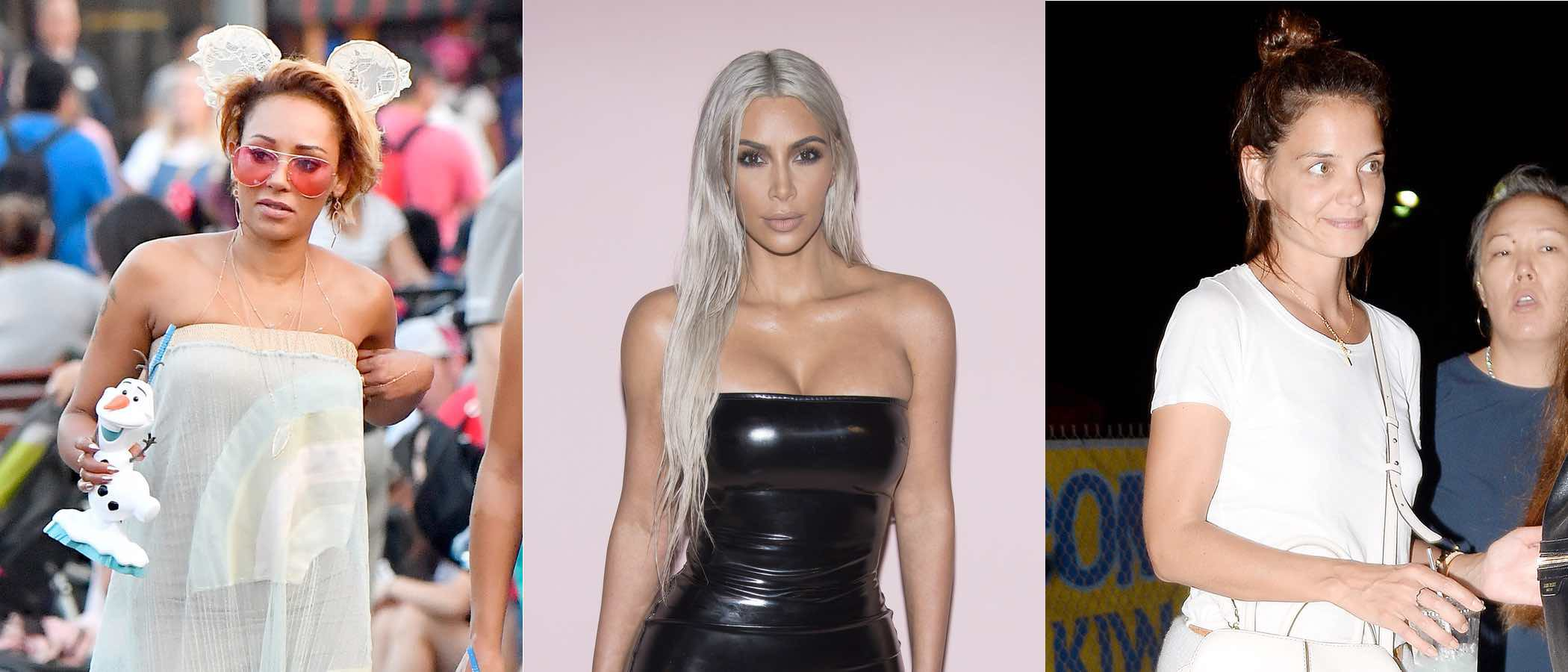 Mel B, Katie Holmes y Kim Kardashian, entre las peor vestidas de la 'vuelta al cole'