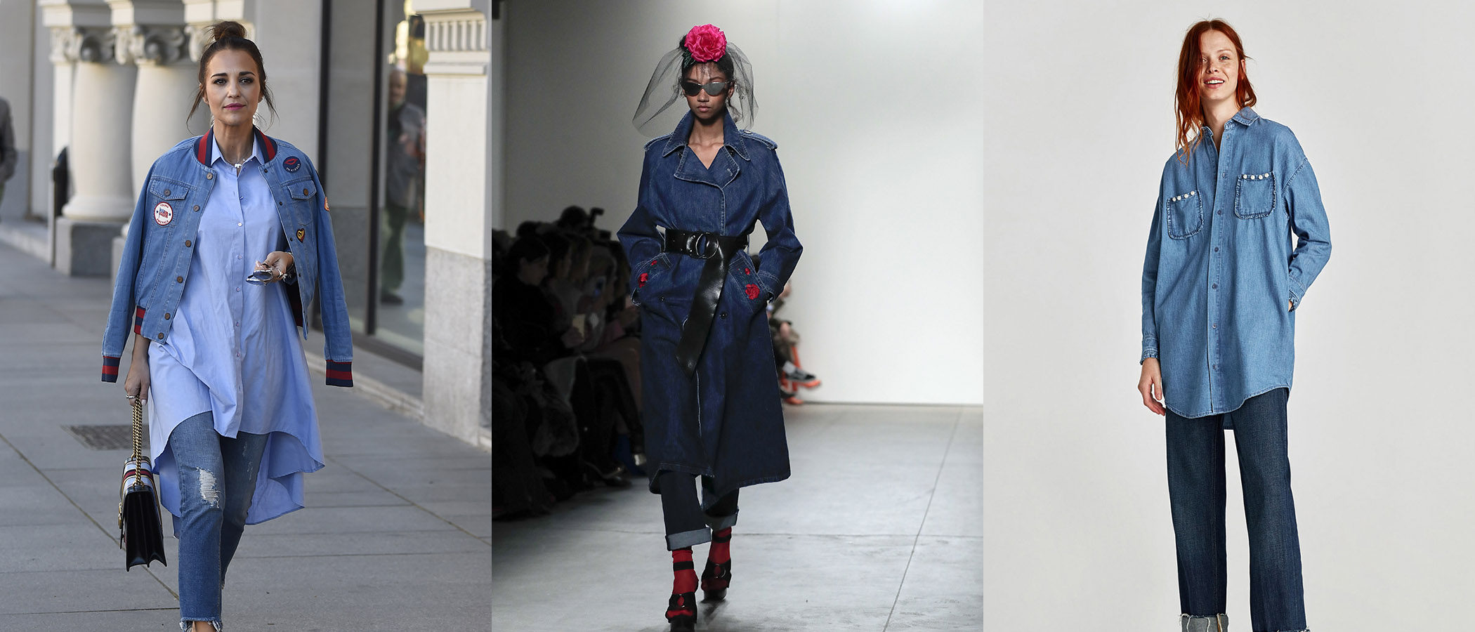 Tendencia del mes: Doble denim