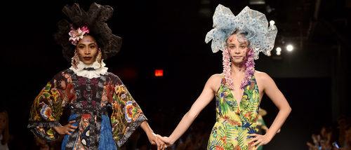 Desigual se inspira en la selva en su colección primavera/verano 2018 para Nueva York Fashion Week